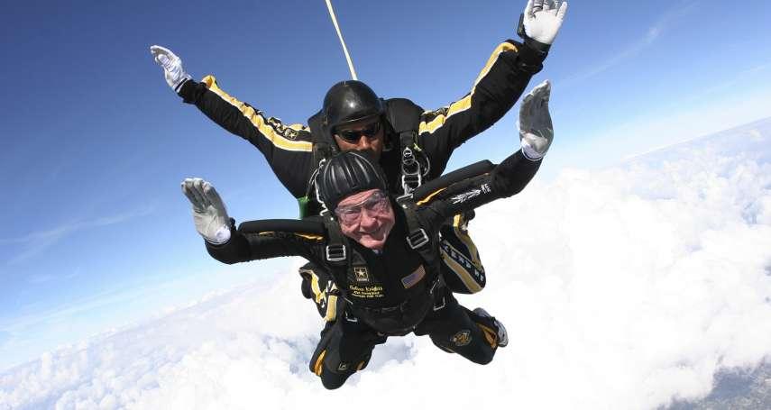 熱愛航海、高空跳傘,還打過棒球「世界盃」!關於美國前總統老布希 你不可不知的10件事