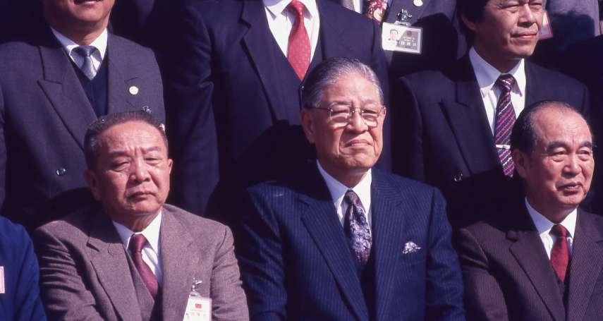 歷史新新聞》國民黨「張亞中驚奇」延燒  當年剛成立未久的民進黨如何避開沾上「統」麻煩