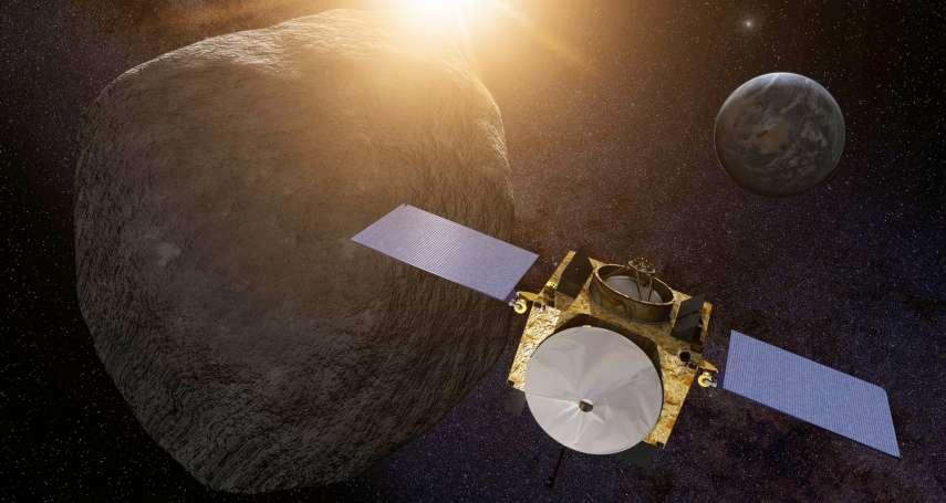 歷史性一刻!NASA探測器精準「親吻」迷你行星,16秒達成耗時12年準備的任務