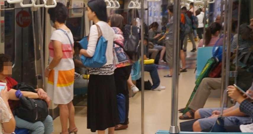 在捷運好好站著,就是鍛鍊核心的好機會!日本美容作家教你善用時間,通勤也能變漂亮