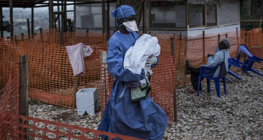 伊波拉風暴再起?剛果爆發公衛史上第二大疫情,人口逾百萬大城已經淪陷