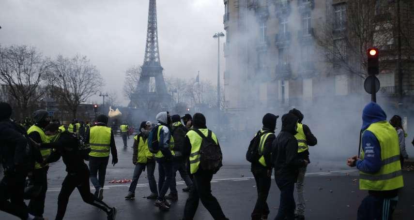 法國「黃背心」示威蔓延歐洲 美國總統川普借題發揮:廢掉《巴黎協定》!