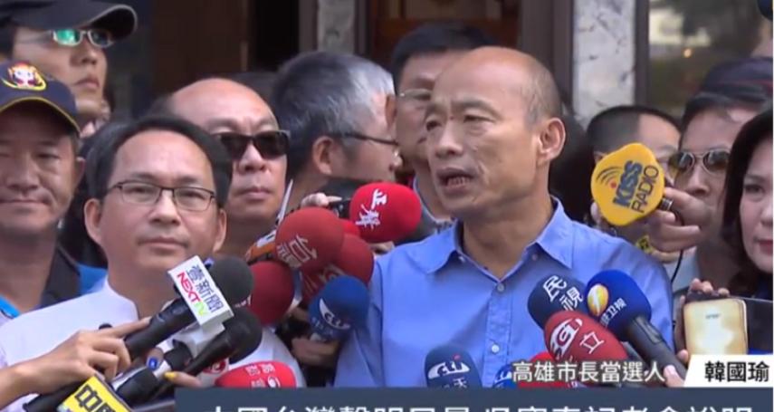 「我是中國人」挨轟》吳寶春說「吳寶春還是吳寶春」 韓國瑜:他不懂政治
