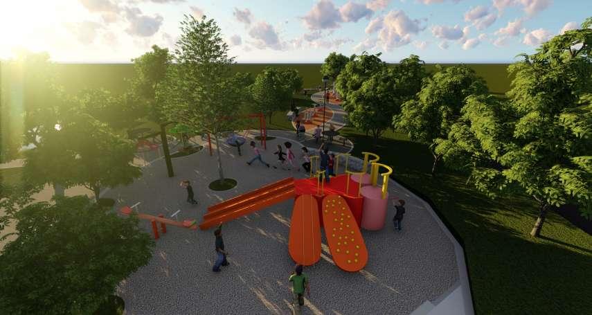 營造海線新公園 中市府規劃大肚下番社兒童公園