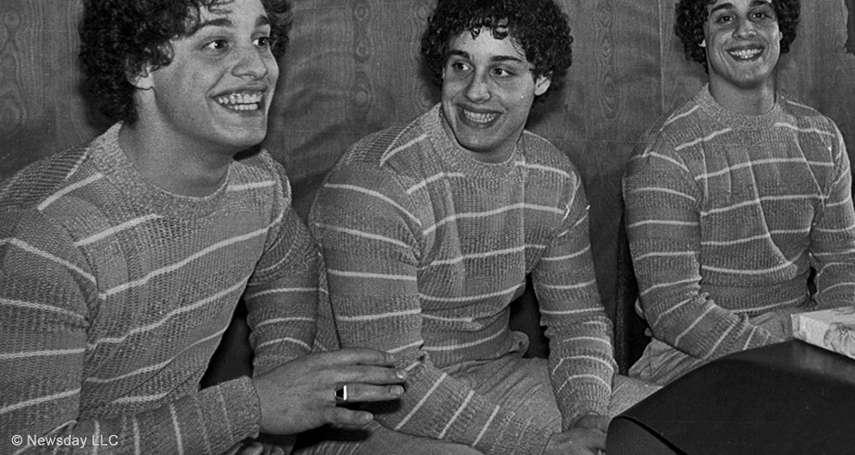 駭人實驗!失散19年三胞胎感人重逢,意外揭穿「失散真相」是一樁慘無人道的心理實驗…