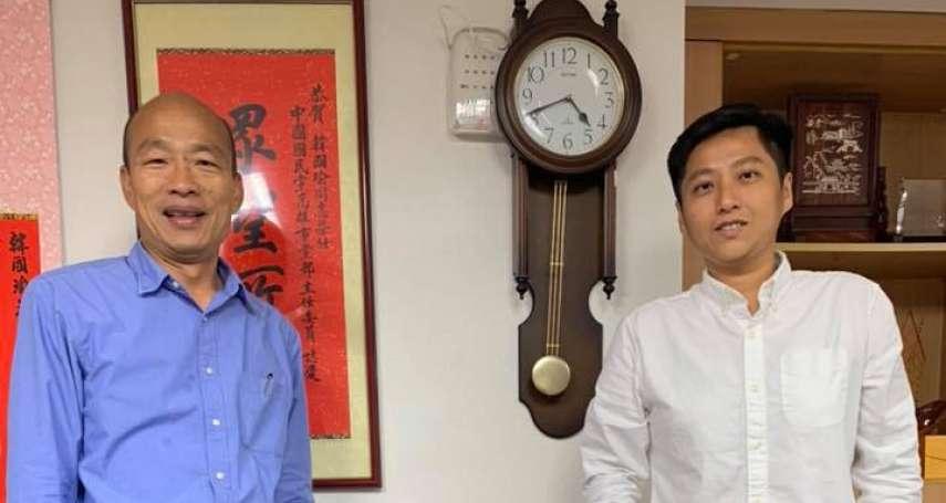 朱挺玗接海洋局長!時力準議員:韓國瑜市府像更生就業服務站?