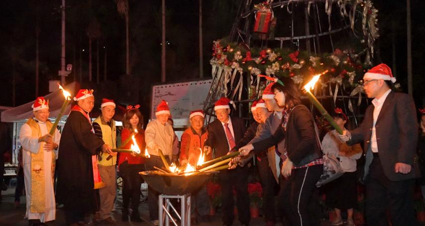 南投信義鄉聖誕節活動 林明溱宣布史強出任觀光處長