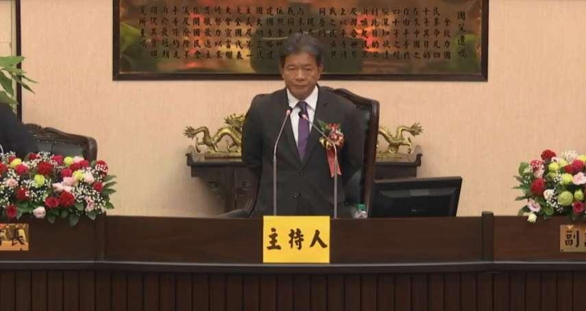 剛接蔡英文台南後援總會長 郭信良「退回」市府總預算案遭綠議會黨團砲轟