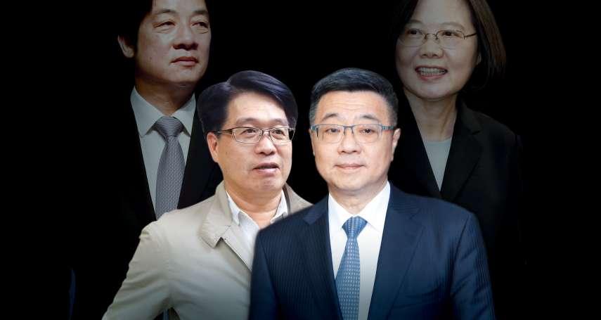 新新聞》黨主席之爭「保英」「挺賴」對決?卓榮泰、游盈隆怎麼說