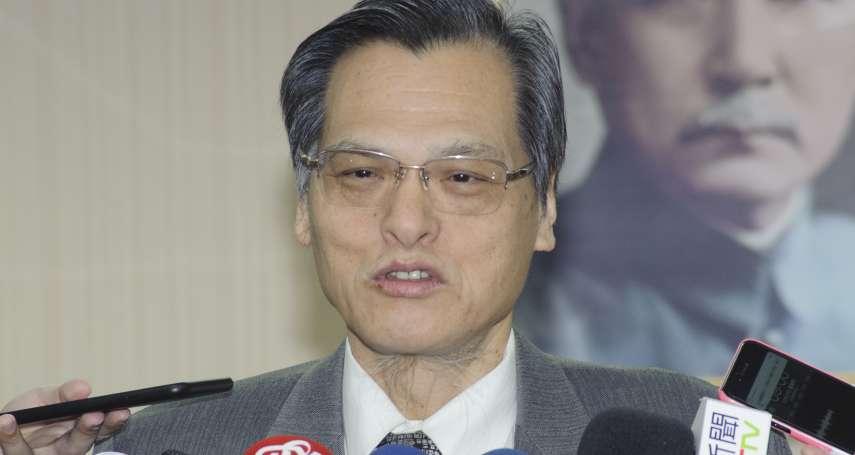 落實兩岸政策地方合作 陸委會主委陳明通證實23日拜訪韓國瑜