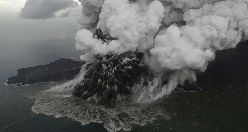 瘋狂火山大噴發》不但引發海嘯造成7000多人傷亡 印尼喀拉喀托火山還炸掉自身三分之二體積!