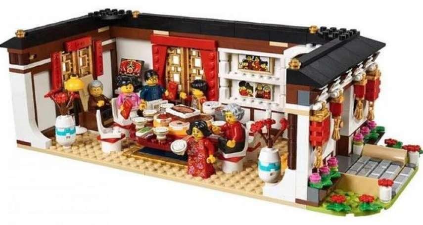 太可愛了啦!樂高推出農曆新年限定組⋯「年夜飯」「舞龍」「領紅包」等經典場景都縮小啦