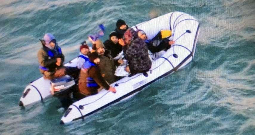 橫跨台海!中國男子駕橡皮艇偷渡台灣 自稱來「投奔自由」