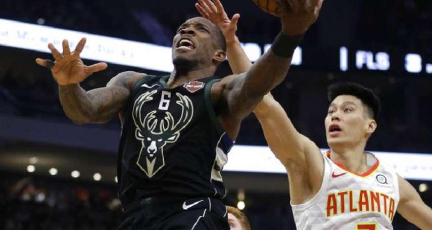 NBA》林書豪有效率12分6助攻 公鹿首節29分差創新隊史射鷹