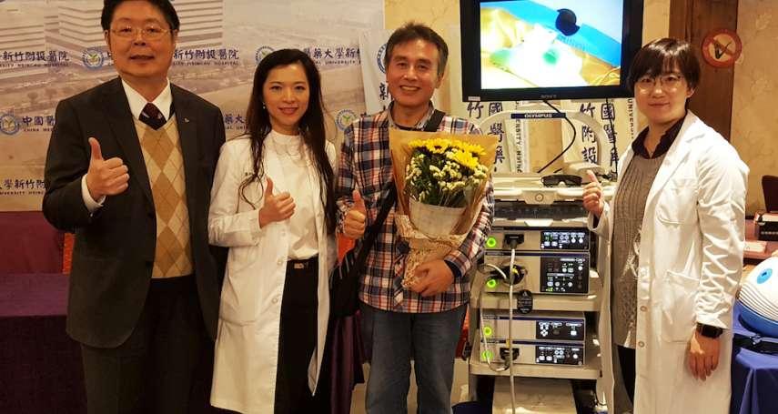 3D腹腔鏡精準切除腫瘤 直腸癌男享正常生活
