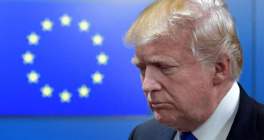 「連通知一聲都沒有」美國一度將歐盟駐美大使地位降級,引發歐盟不滿