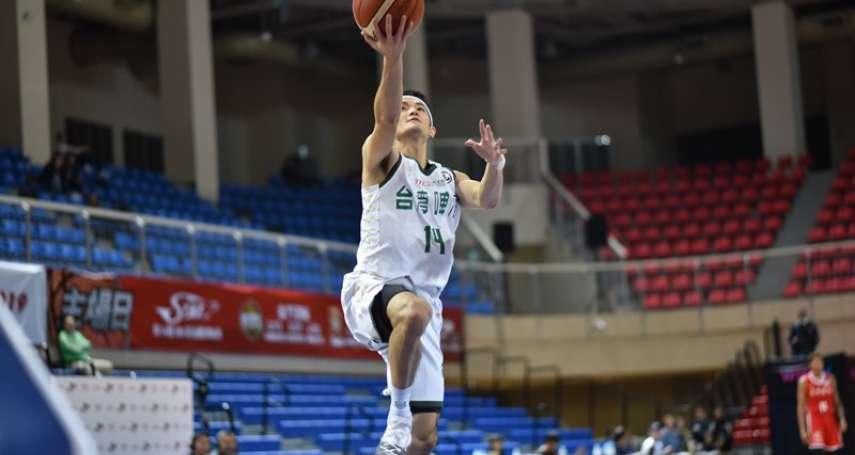 籃球》蔣淯安關鍵中距離鎖定勝利 台啤驚險擊退璞園晉級