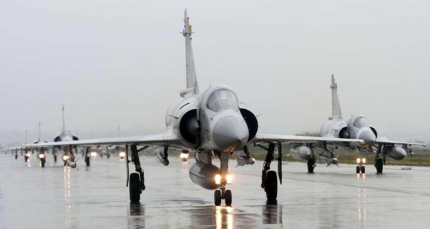 新竹基地跑道維修 幻象2000移防清泉崗 與IDF經國號戰機共用機場