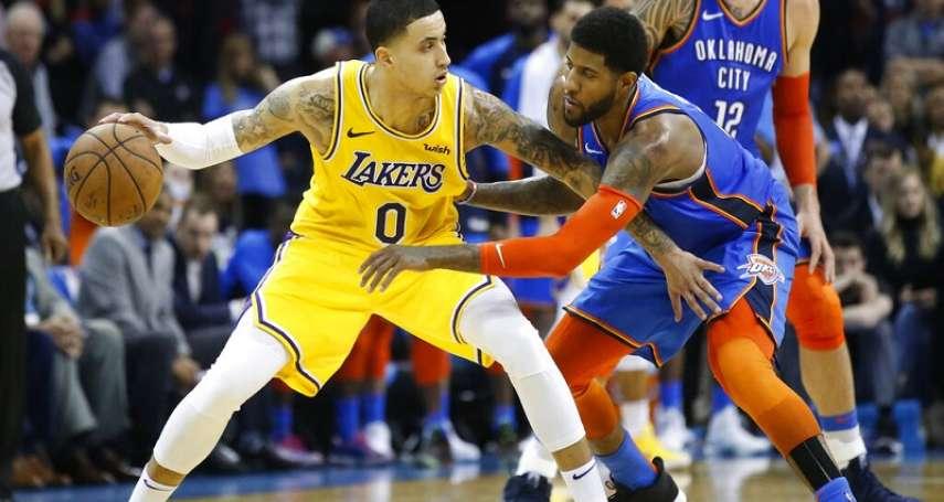 NBA》畢斯利穿錯球褲好糗 湖人少了詹皇照贏雷霆