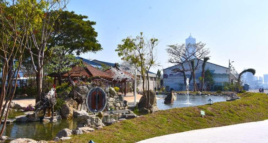 悠遊蓬萊秘境 高雄港舊港區變身夢幻水花園
