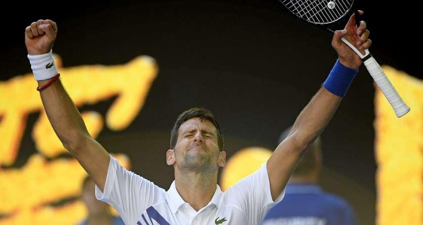 網球》喬科維奇擊倒沙波瓦羅夫晉16強 納達爾、費德勒明天將接連出賽