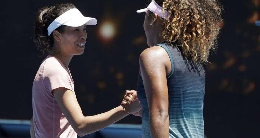 網球》謝淑薇遭大坂直美逆轉 澳網女單止步
