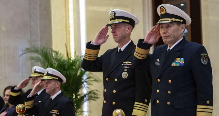 1996年獨立號與尼米茲號、2007年小鷹號……美國海軍作戰部長理查森:不排除再度向台灣海峽派出航空母艦!