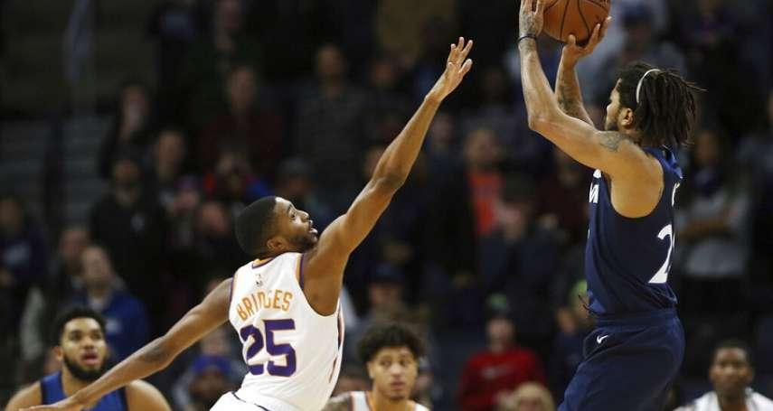 NBA》羅斯完成0.9秒絕殺 灰狼射日成功