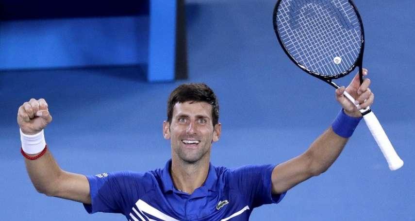 網球》擔憂野火濃煙影響選手健康 喬科維奇呼籲澳網延期舉行