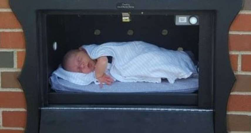 如果你不想要你的新生兒了,可以「合法地」丟在這裡...美國的棄嬰箱爭議
