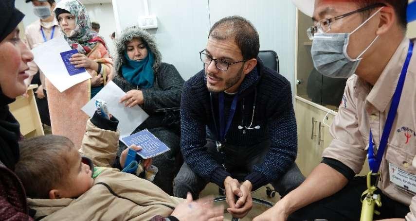 深入難民營義診只求「本心不變」 路竹會:台灣以前受人幫助,現在有能力該幫助人家了