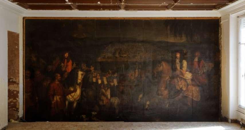 「這就像發現了木乃伊!」17世紀珍貴油畫隱身巴黎老公寓 法王路易十四御用畫師傑作重見天日