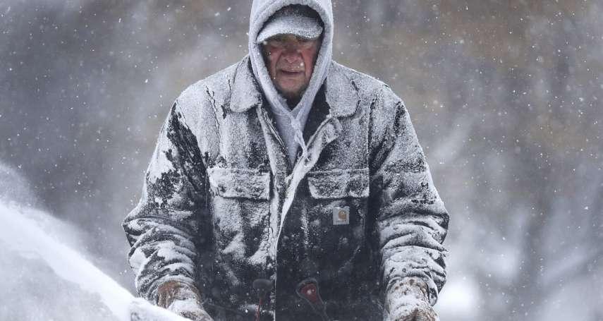 比南極還冷!美國氣溫跌破零下50度,川普發文要「全球暖化快回來」,但暖化才是罪魁禍首!