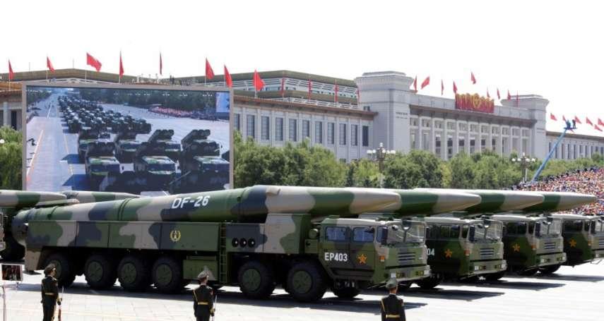 川普政府「非常擔心」中國飛彈威脅,五角大廈官員:美軍正加強區域防禦,也會使用核威懾力量