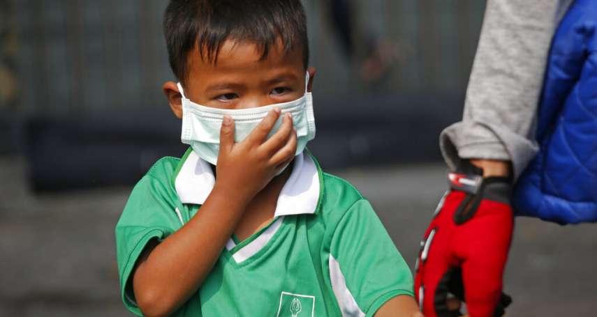 PM2.5指數超出警戒值3倍!嚴重空汙籠罩泰國曼谷,437所學校被迫停課3天