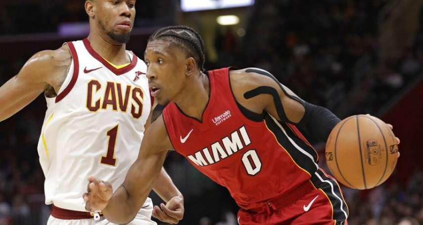 NBA》騎士持續重建 送走胡德換回加拿大射手與二輪選秀權