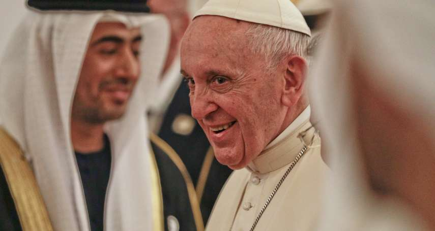 首位踏上伊斯蘭教發源地、阿拉伯半島的教宗》方濟各訪問阿拉伯聯合大公國,寫下宗教對話新頁