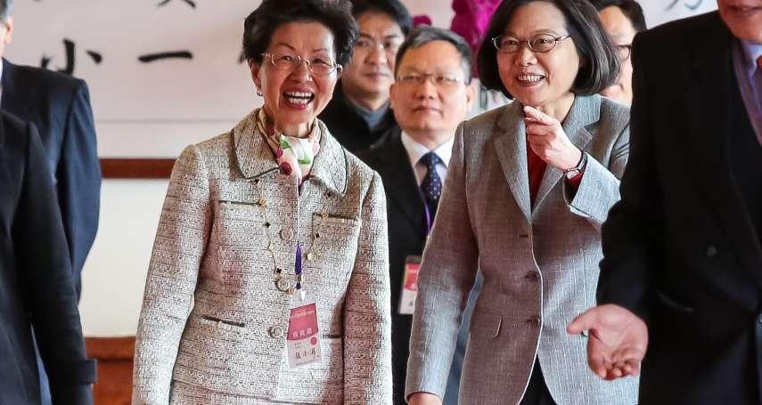 籲台商將生產基地移回台灣 蔡英文:可以避免受到貿易制裁