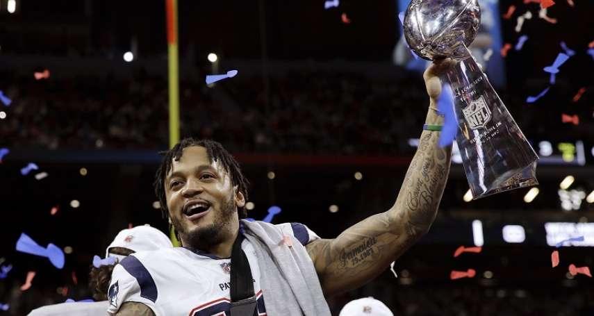 NFL》超級盃史上第一位華裔球員 在IG上發表冠軍的代價