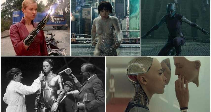 《艾莉塔》看完覺得超過癮?那這5部「女機器人電影」更是必看神作,影癡都狂讚太經典!