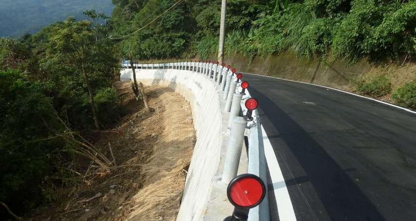 瑪麗亞颱風重創新北石碇 道路復建完成