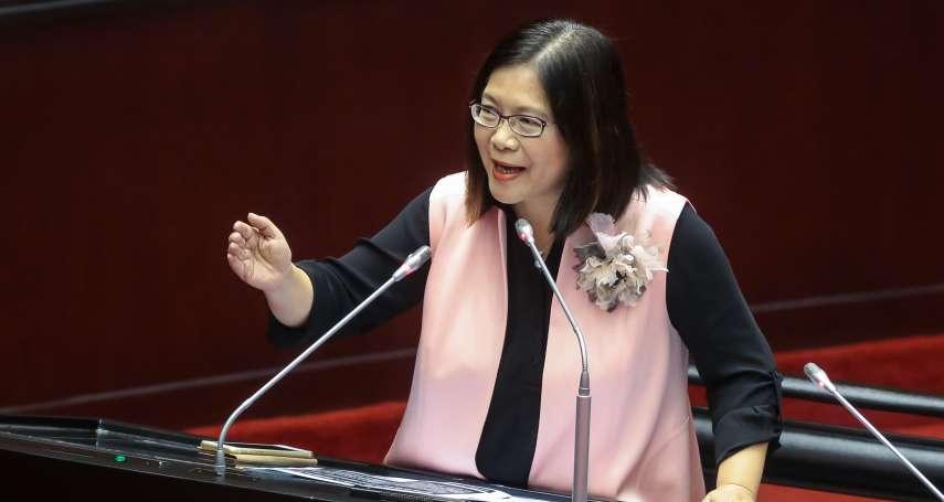 高雄立委選區合併減席 蔡英文宣布:管碧玲轉戰不分區