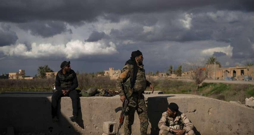 只剩700平方公尺領土的「伊斯蘭國」:殘餘分子在幼發拉底河畔遭圍殲,靠「人肉盾牌」死守最後據點