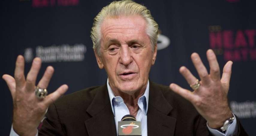 NBA》回憶當年詹皇離開球隊 熱火總裁:我看見一個王朝終結