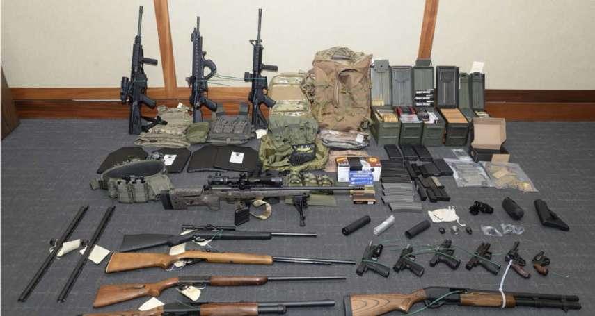 「我有一個夢:殺光地球上的每一個人」美國恐怖軍官準備血洗華府,所幸當局及時破獲!