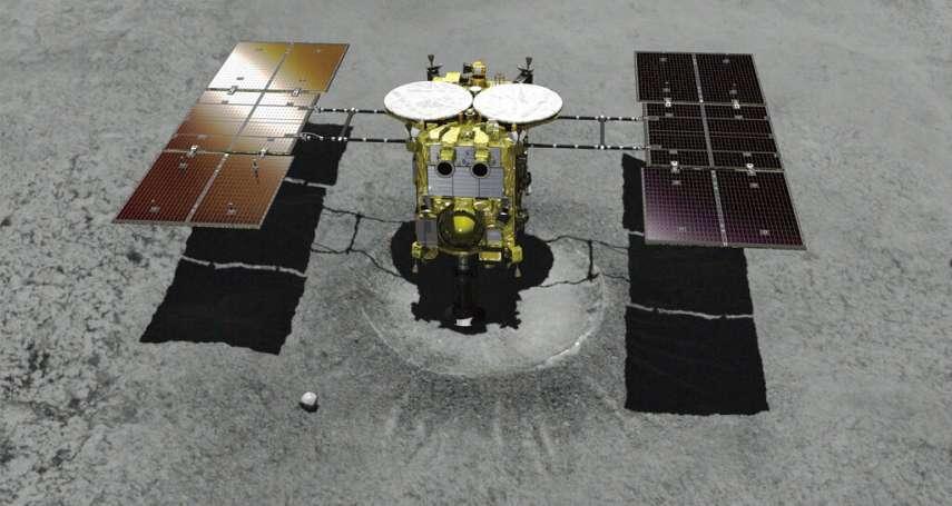 「瞄準三億公里外的甲子園投手丘」日本「隼鳥2號」成功降落小行星!探索太陽系生命起源