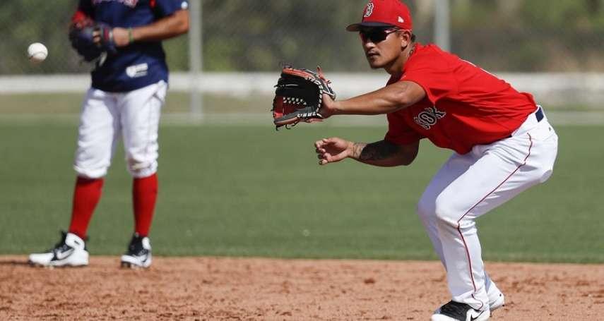 MLB》林子偉替補上場敲二壘安打 熱身賽打擊率突破4成