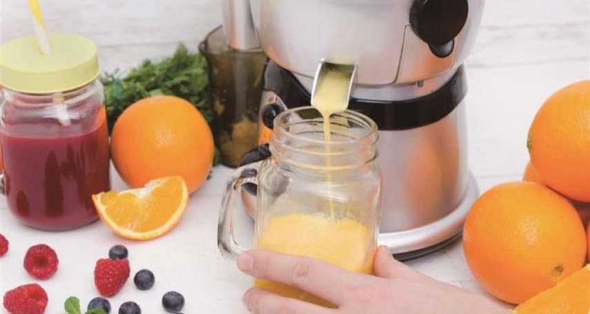 慢磨機做的蔬果汁,比傳統榨汁機保留更多營養?揭業者沒說的「真相」別被廣告給騙啦