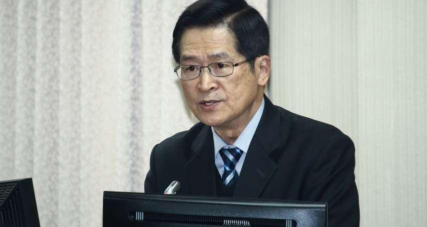 立委問「美日是否出兵防衛台灣」?國防部長:有可能