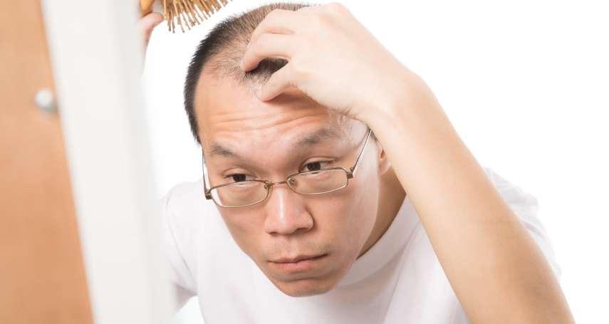 頭髮越來越少,其實是健康警訊?中醫師分析3大禿頭原因,找到拯救髮際線的妙方